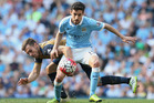 Jesus Navas has now gone two seasons and 76 shots without a Premier League goal. Photo / AP