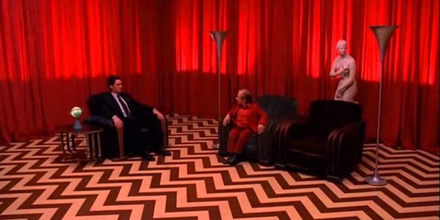 The infamous Red Room in Fire Walk With Me. I want my garmonbozia (pain and suffering) anyone?
