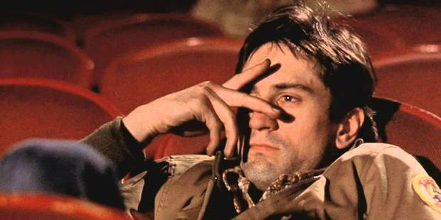You booing at me? Taxi Driver screened in a climate of fear and violence prompting a number of jeers.
