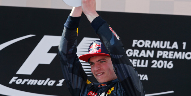 Red Bull driver Max Verstappen. Photo / AP