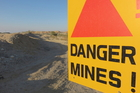 Finding landmines is painstaking work that can occasionally be deadly. Photo / iStock