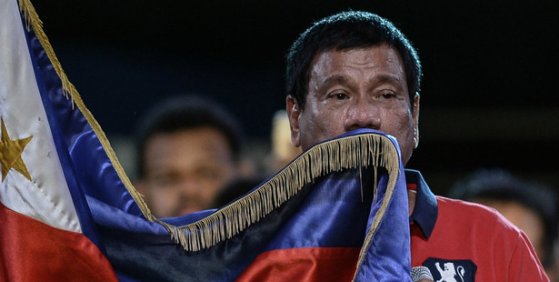 Rodrigo Duterte. Photo / AFP-Getty, Washington Post
