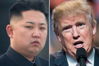 Donald Trump (right) said in an interview this week that he was prepared to meet North Korean dictator Kim Jong Un (left). Photo: Getty Images
