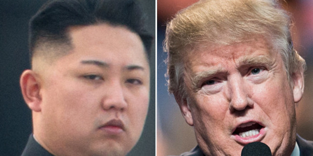 Loading Donald Trump (right) said in an interview this week that he was prepared to meet North Korean dictator Kim Jong Un (left). Photo: Getty Images