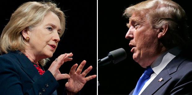 Loading Hilary Clinton vs Donald Trump. Photos / NZPA, AP