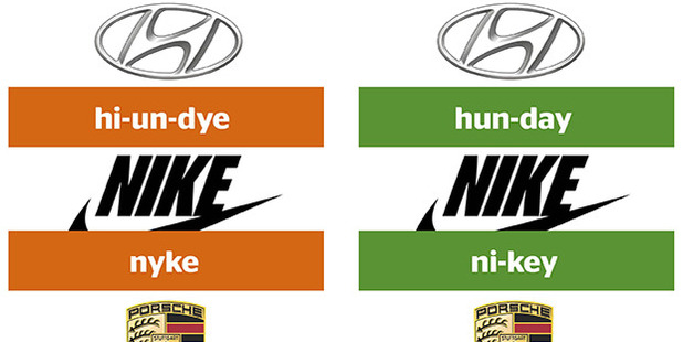 Some of these brand name pronunciations may surprise you.