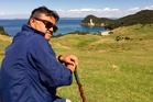 Pio Terei near Whangarei Heads, on Te Araroa trail.