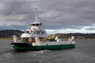 The Hokianga car ferry Kohu Ra Tuarua is out of action after hitting the wharf at Kohukohu, causing a gash in the hull that flooded an engine.