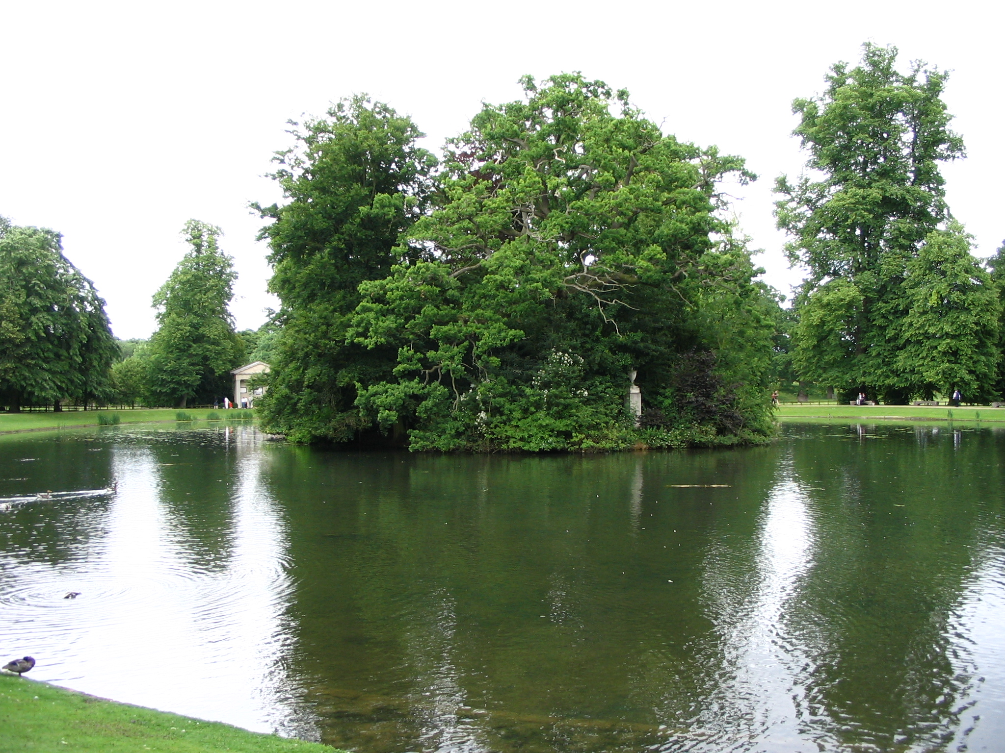 Diana was interred on a small island on the Althorp's Oval Lake, which is at the centre of the 13,000-acre estate. Photo / JMarler via Flickr