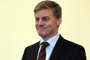 Finance Minister Bill English.