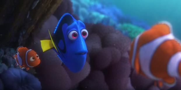 Loading A scene from the upcoming Disney-Pixar movie, Finding Dory.