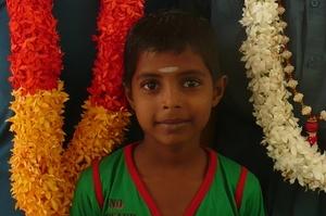 Sponsor child Yogalingam Thanojithan.