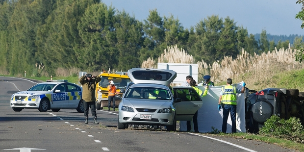 The Whittaker-Ngaropo brothers died when their car left State Highway 2 in Pikowai, in the Bay of Plenty. Photo / NZME