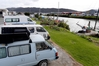 Freedom camping will be banned from some places in Whangarei under a new bylaw - including this popular spot on Port Rd. Photo / John Stone