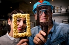 Annarosa and Giapo Grazioli test their creation. Photo / Dean Purcell