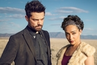 Preacher series on Lightbox starring Dominic Cooper and Ruth Negga.