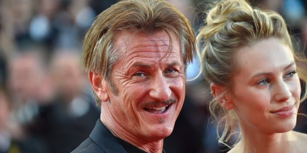Loading US actor and director Sean Penn with his daughter US actress Dylan Penn at the screening of the film The Last Face at the Cannes Film Festival. Photo / AFP