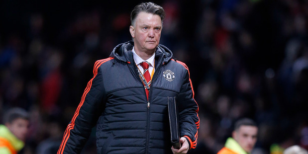 Former Manchester United manager Louis van Gaal. Photo / AP