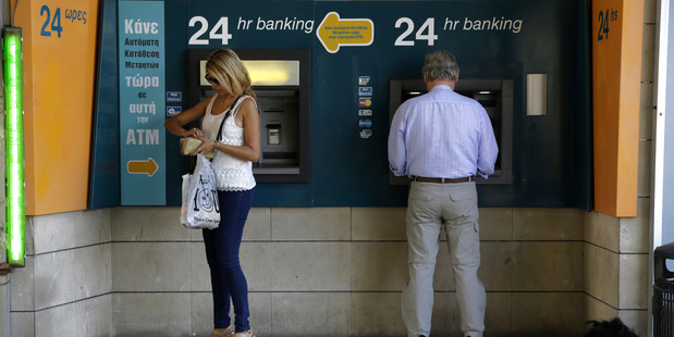 The Japanese incident is the latest in a string of increasingly sophisticated ATM robberies involving fake credit cards across the globe. Photo / AP