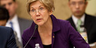 Senator Elizabeth Warren in Washington. Photo / AP