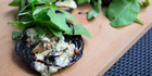 BBQ portobello mushrooms by Karena and Kasey Bird for Bite magazine. 9 December 2015 Herald on Sunday Photograph by Nick Reed. SUN 03Jan16 -