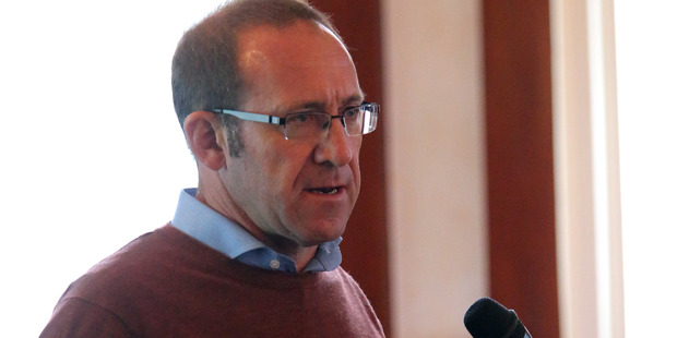 Loading Labour Party leader Andrew Little in Whanganui. Photo / Wanganui Chronicle