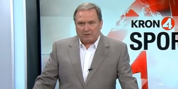 Loading Sports anchor Gary Radnich before launching into his rant. Photo / YouTube