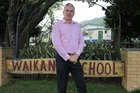 Waikanae School principal Bevan Campbell says he was immensely frustrated by the anxiety and lost time the text caused. Photo / Supplied