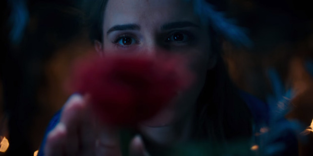 Loading Emma Watson in a scene from the upcoming live action movie, Beauty and the Beast.