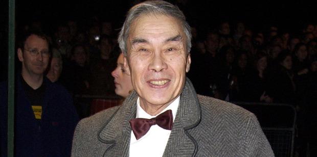 Burt Kwouk dies at 85. Photo / Getty Images