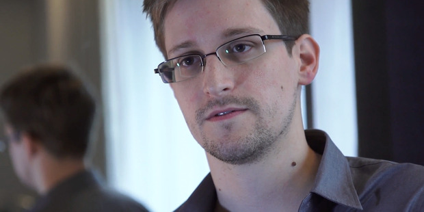 Edward Snowden made his stance on encryption clear in a tweet. Photo / Michael Short