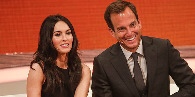 Megan Fox and Will Arnett. Photo / Getty Images