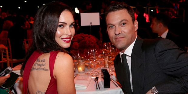 Megan Fox with husband Brian Austin Green. Photo / Getty Images
