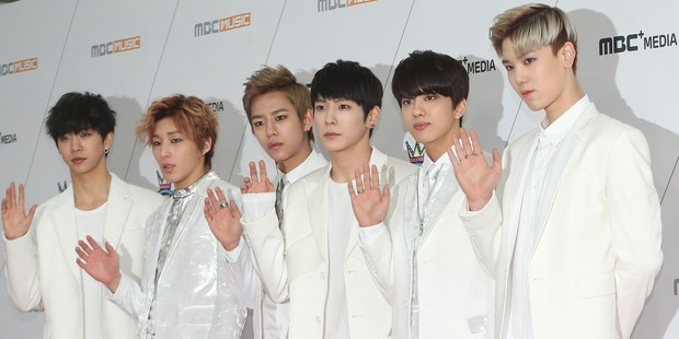 "B.A.P. has three No. 1s on Billboard's World Albums chart and an international fan club, including in New Zealand, where members are called ""Babyz"". File photo / Getty Images"