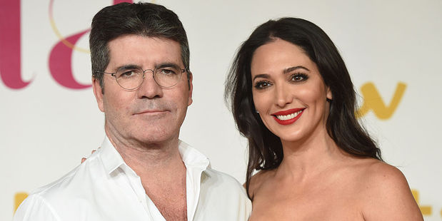 Simon Cowell and wife Lauren Silverman. Photo / Getty Images