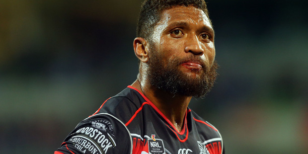 Warriors wing Manu Vatuvei is expected to be available for NRL selection following this week's bye round. Photo/Getty.