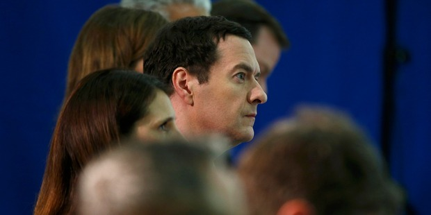 Finance minister George Osborne has warned the British public that leaving European Union could result in a recession. Photo / Getty Images