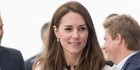Catherine, Duchess of Cambridge visits Ben Ainslie Racing and the 1851 trust on May 20, 2016 in Portsmouth, England.