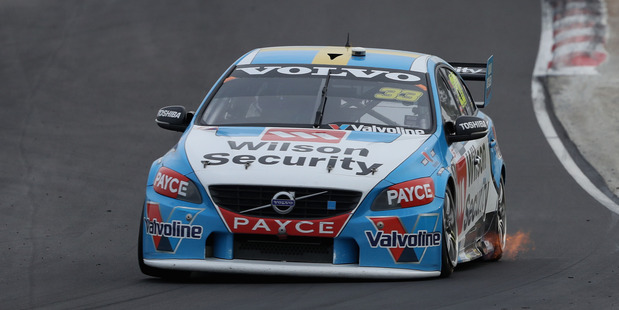Scott McLaughlin during Race 10 of the V8 Supercars Winton round. Photo / Getty Images