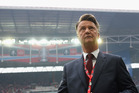 Manchester United Louis van Gaal looks on after winning the FA Cup final at Wembley Stadium on Sunday morning (NZT). Photo / Getty Images
