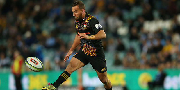 Aaron Cruden could be in line for the starting number 10 berth for the All Blacks. Photo / Getty