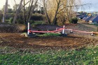 Police said the man died and a man and woman were treated for minor injuries at the event at the Cambridge MX Track on Rowling Olace in the suburb in Leamington. Photo / Supplied