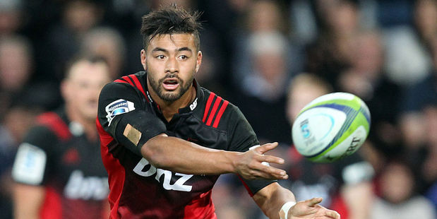 Richie Mo'unga in action for the Crusaders. Photo / Getty
