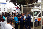 The Hawera District Court had to be cleared after a ruckus on March 1. PHOTO/ILONA HANNE