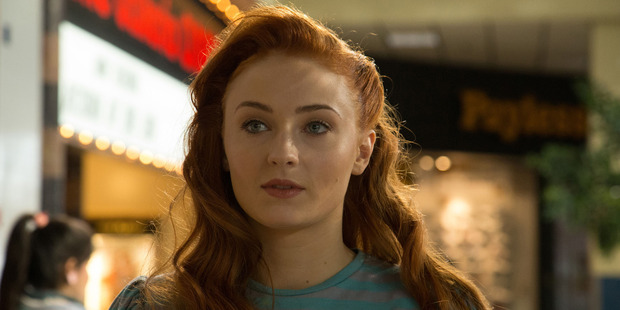 Sophie Turner stars as Jean Grey in X-Men: Apocalypse.