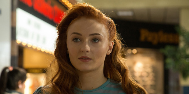 Actress Sophie Turner stars as Jean Grey in the movie, X-Men: Apocalypse.