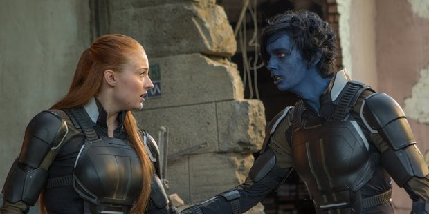 A scene from the movie, X-Men: Apocalypse