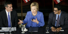 Hillary Clinton, former Secretary of State and 2016 Democratic presidential candidate. Photo / Bloomberg