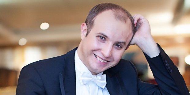 Ukrainian pianist Alexander Gavrylyuk drew the APO into his glittering dream world. Photo / Mike Bovan