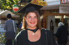 Masters student Ellie Rainford, in Wellington. Photo / Mark Mitchell